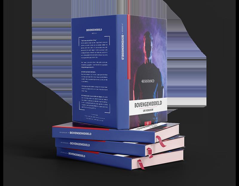 """E-book """"Bovengemiddeld"""""""