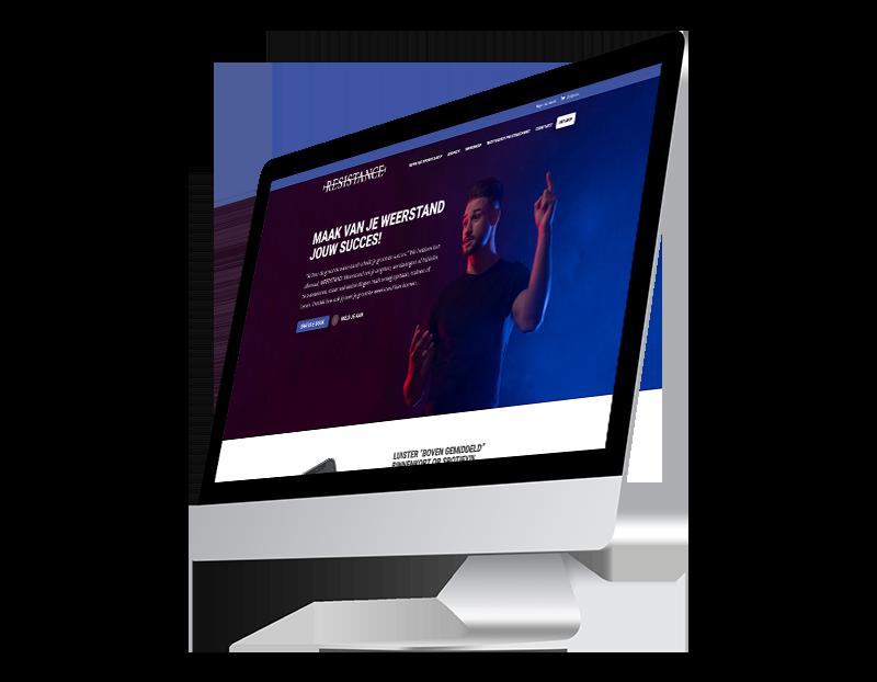 Website Noresistance.nl